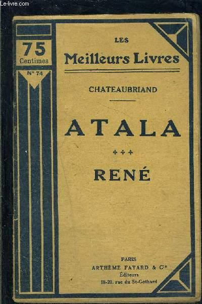 ATALA- RENE- TOME 3- vendu seul