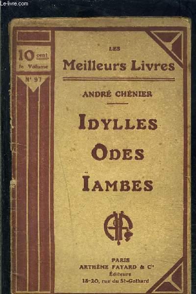 IDYLLES ODES IAMBES