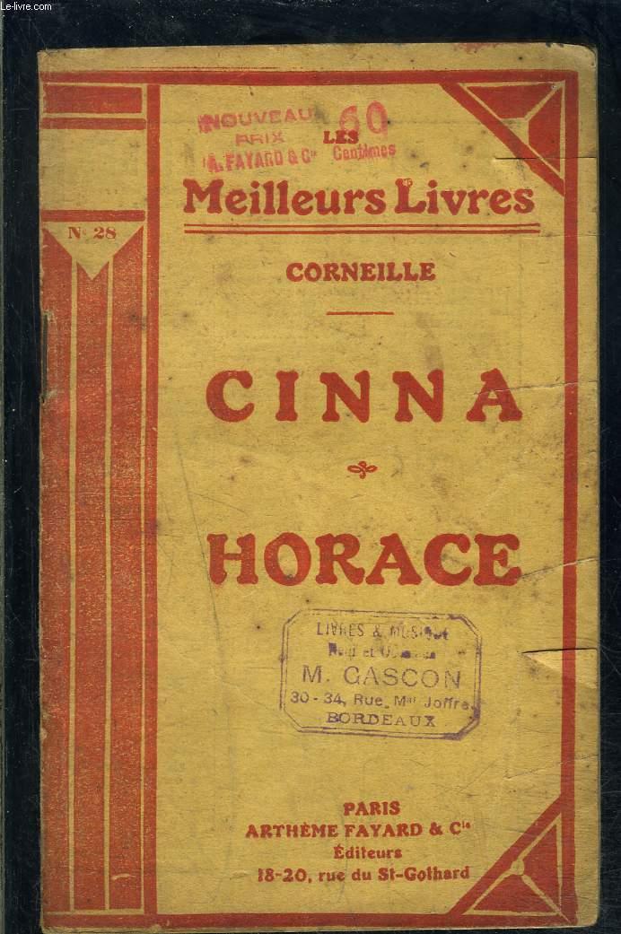 CINNA- HORACE