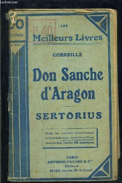 DON SANCHE D ARAGON- SERTORIUS