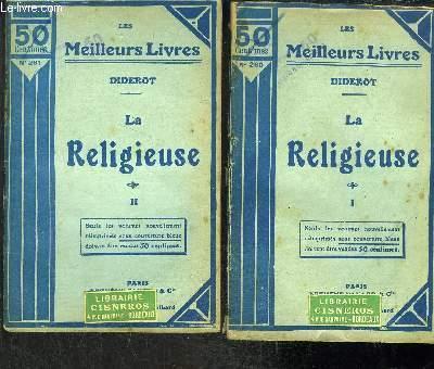 LA RELIGIEUSE- 2 TOMES EN 2 VOLUMES