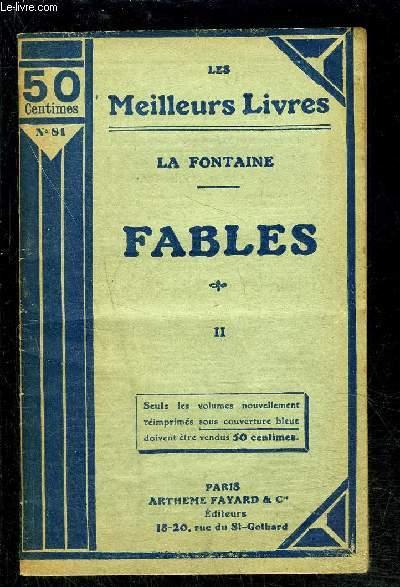 FABLES- TOME 2 vendu seul