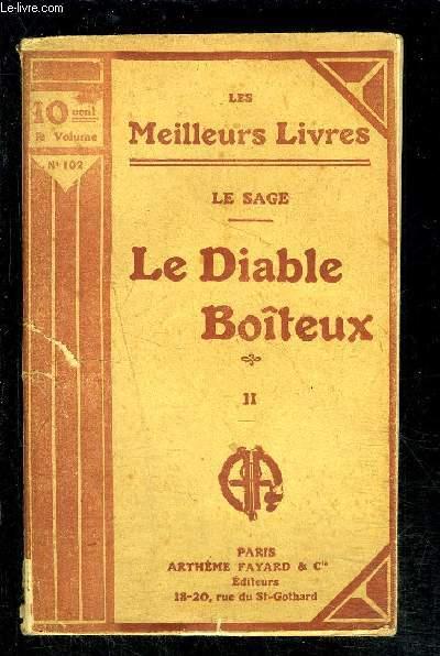 LE DIABLE BOITEUX- TOME 2