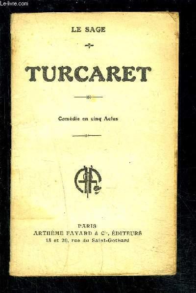 TURCARET- COMEDIE EN CINQ ACTES