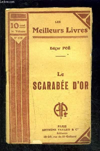 LA SCARABEE D OR