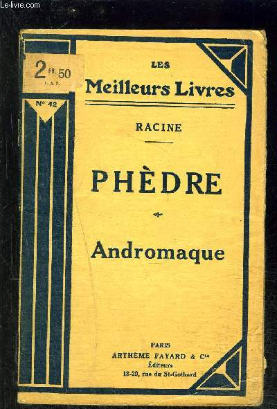 PHEDRE- ANDROMAQUE