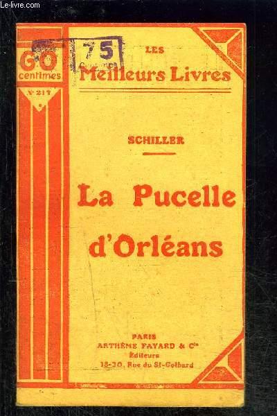 LA PUCELLE D ORLEANS