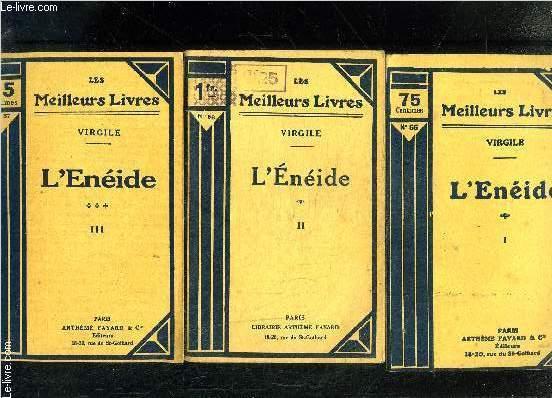 L ENEIDE- 3 TOMES EN 3 VOLUMES