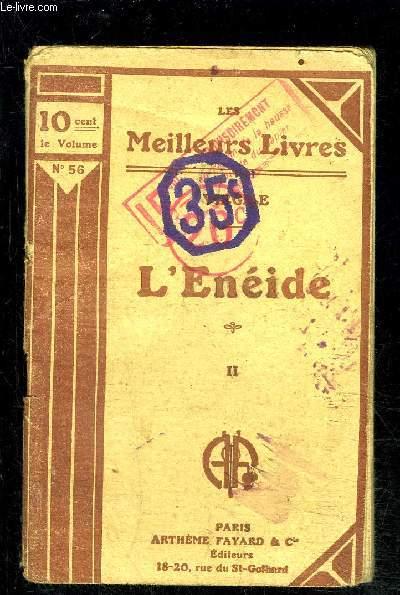L ENEIDE- TOME 2 vendu seul