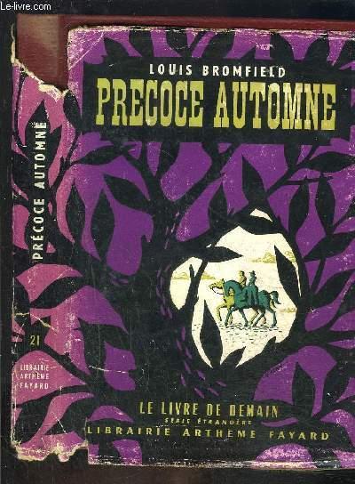 PRECOCE AUTOMNE- LE LIVRE DE DEMAIN N°21 - Série étrangère