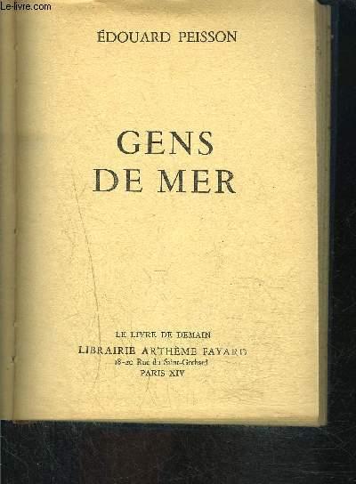 GENS DE MER- LE LIVRE DE DEMAIN