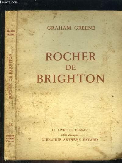 ROCHER DE BRIGHTON- LE LIVRE DE DEMAIN N°39- Série étrangère
