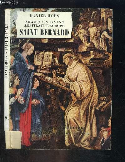 QUAND UN SAINT ARBITRAIT L EUROPE SAINT BERNARD- LE LIVRE CHRETIEN N°9