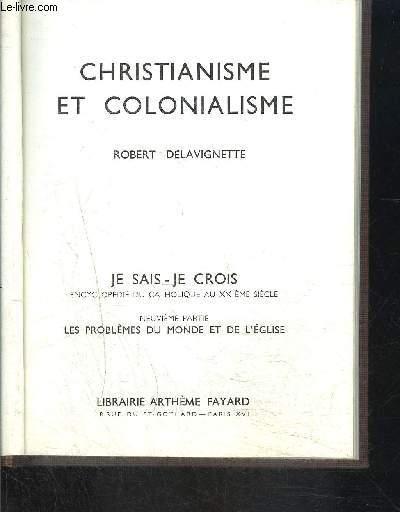 CHRISTIANISME ET COLONIALISME- JE SAIS- JE CROIS N°9. 96
