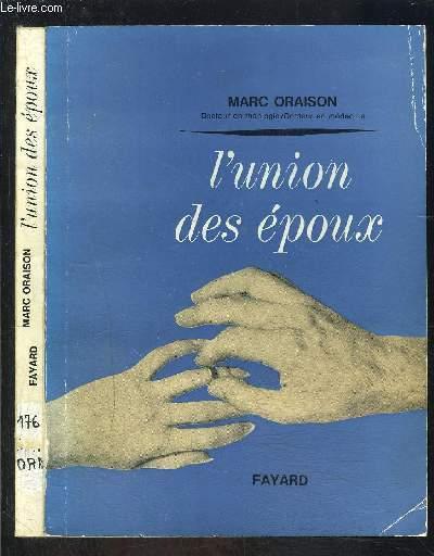 L UNION DES EPOUX- BIBLIOTHEQUE ECCLESIA N°176