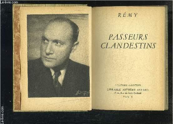 PASSEURS CLANDESTINS- L HISTOIRE ILLUSTREE