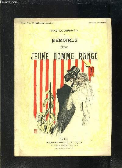 MEMOIRES D UN JEUNE HOMME RANGE