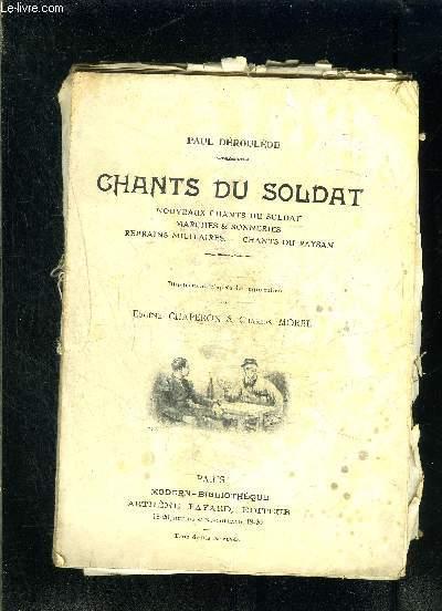 CHANTS DU SOLDAT- VENDU EN L ETAT