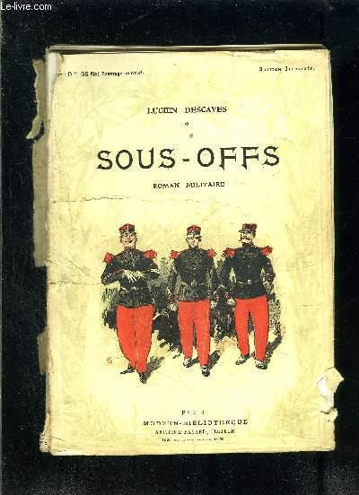 SOUS OFFS- VENDU EN L ETAT