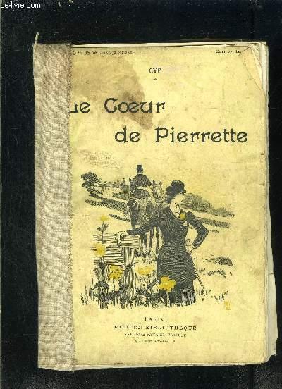 LE COEUR DE PIERRETTE