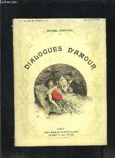 DIALOGUES D AMOUR