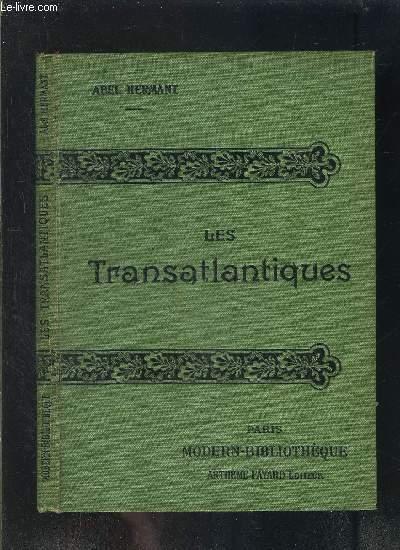 LES TRANSATLANTIQUES- COLLECTION MODERN-BIBLIOTHEQUE