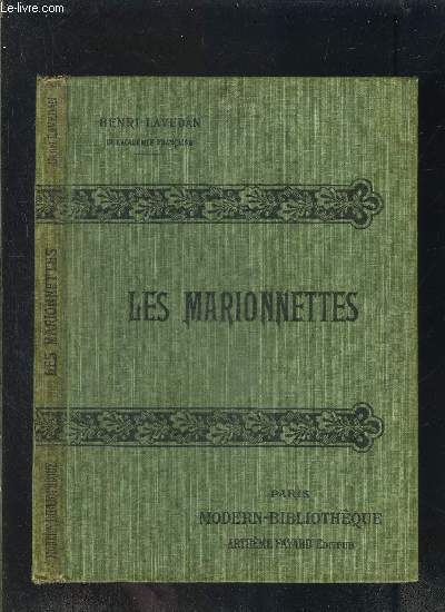 LES MARIONNETTES- COLLECTION MODERN-BIBLIOTHEQUE