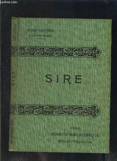 SIRE- COLLECTION MODERN-BIBLIOTHEQUE
