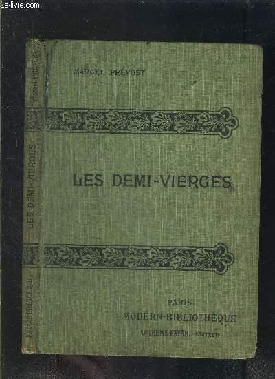 LES DEMI VIERGES- COLLECTION MODERN-BIBLIOTHEQUE
