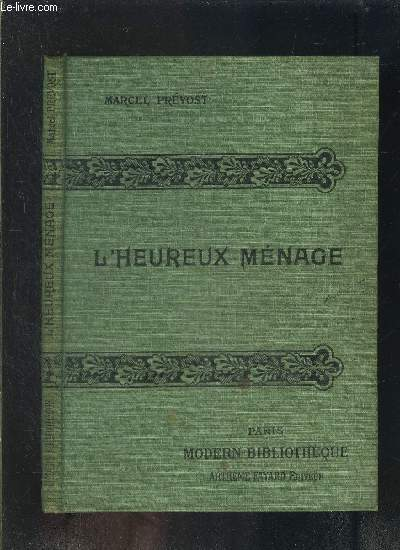 L HEUREUX MENAGE- COLLECTION MODERN-BIBLIOTHEQUE