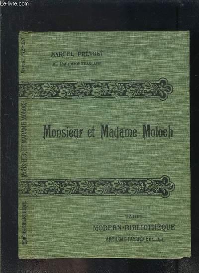MONSIEUR ET MADAME MOLOCH- COLLECTION MODERN-BIBLIOTHEQUE