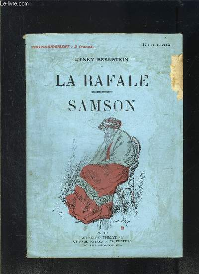LA RAFALE- SAMSON- MODERN-THEATRE N°VIII