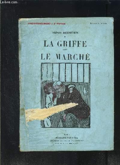 LA GRIFFE- LE MARCHE- MODERN-THEATRE N°17