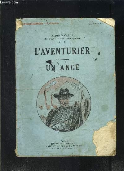 L AVENTURIER- UN ANGE- MODERN-THEATRE N°52- VENDU EN L ETAT