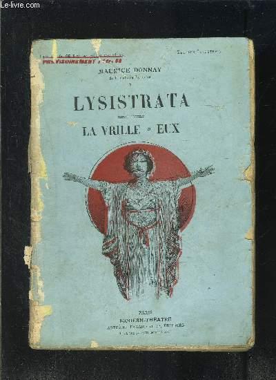 LYSISTRATA- LA VRILLE- EUX - MODERN-THEATRE N°XLI