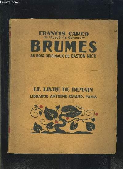 BRUMES- LE LIVRE DE DEMAIN N°221
