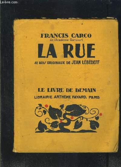 LA RUE- LE LIVRE DE DEMAIN N°234