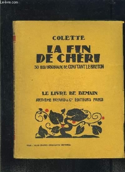 LA FIN DE CHERI- LE LIVRE DE DEMAIN N°80