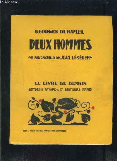 DEUX HOMMES- LE LIVRE DE DEMAIN N°124