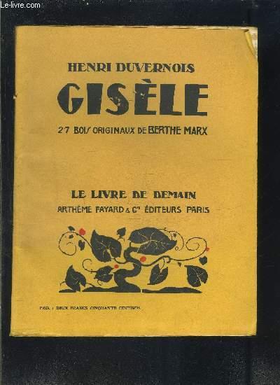 GISELE- LE LIVRE DE DEMAIN N°XXX