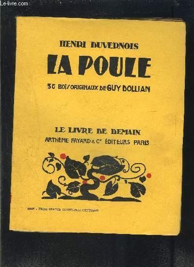 LA POULE- LE LIVRE DE DEMAIN N°128