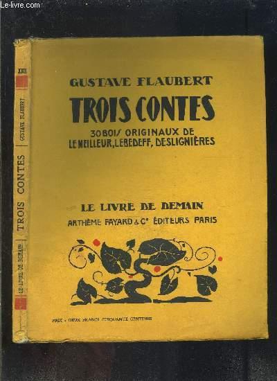 TROIS CONTES- LE LIVRE DE DEMAIN N°XXIX