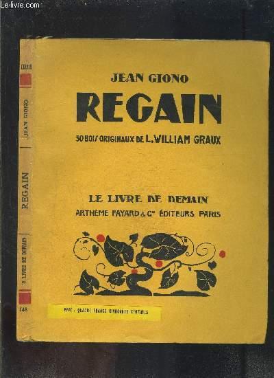 REGAIN- LE LIVRE DE DEMAIN N°148