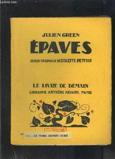 EPAVES- LE LIVRE DE DEMAIN N°183