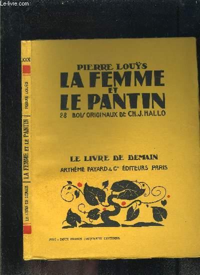 LA FEMME ET LE PANTIN- LE LIVRE DE DEMAIN N°XIX