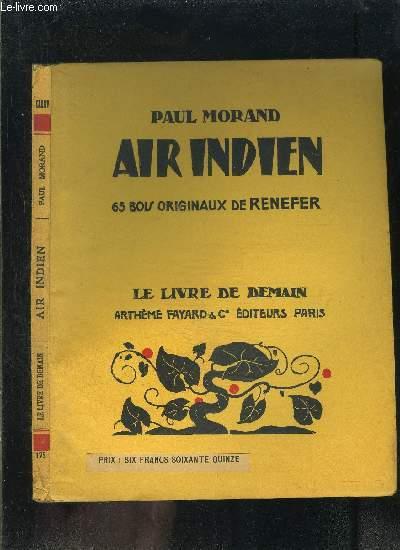 AIR INDIEN- LE LIVRE DE DEMAIN N°175