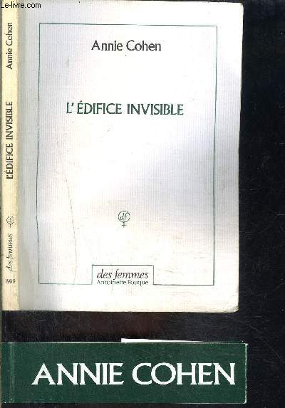 L EDIFICE INVISIBLE- ENVOI DE L AUTEURE