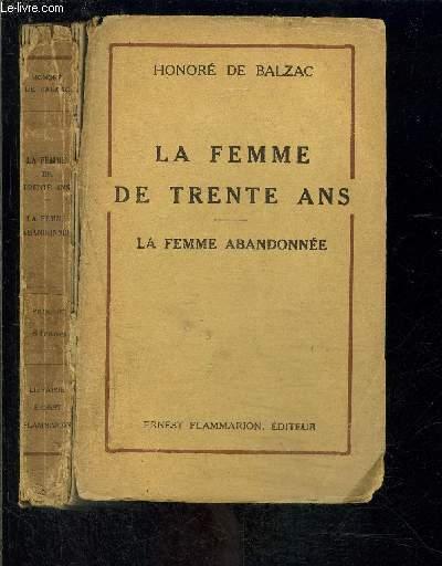 LA FEMME DE TRENTE ANS- LA FEMME ABANDONNEE
