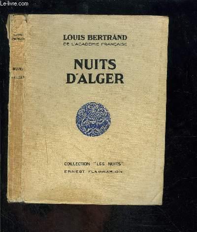 NUITS D ALGER- COLLECTION LES NUITS