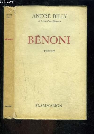 BENONI- MOEURS D EGLISE